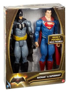 Buy Batman v Superman 2 Figure BOXSET DC Comics 30cm Action Figure Doll - MATTEL toys 2017 for R479.99