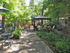 There's plenty of seating in our upper Garden Courtyard! The Groveland Hotel, Groveland, CA