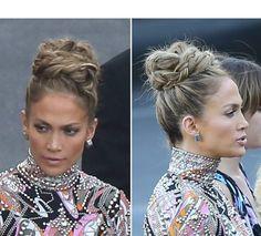 Jennifer Lopez%u2019s Sexy Braided Updo %u2014 Recreate Her Unique�Bun