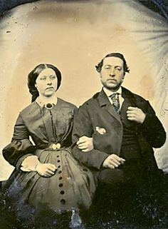 Esther McCleery and brother Fitzgerald McCleery, February 1862