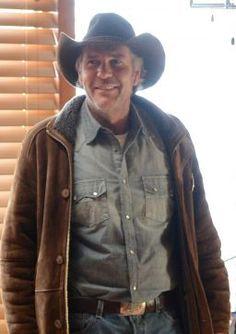 Robert Taylor: arresting as TV lawman 'Longmire'