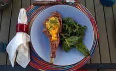 Veal Chop & Mango Sa