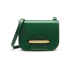 Mulberry - Selwood in Emerald Crossboarded Calf