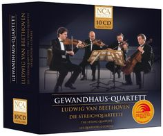 Beethoven: The String Quartets, The Gewandhaus-Quartett Plays Ludwig van Beethoven NCA http://www.amazon.com/dp/B00015T1MW/ref=cm_sw_r_pi_dp_0Xl7wb1Y2F7D9