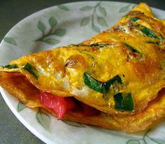 Omelet for one is basic technique for making omelet.Ideal for breakfast,easy to cook,quite delicious.Can use with a different fillings.