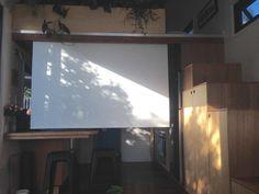 Projection Screen - Australian Zen Tiny Home