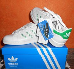 #new#adidas#stansmith#color#greenandwithe