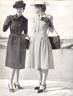 women's fashion 1940s