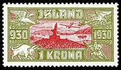 Resultado de imagen para iceland stamp 1930