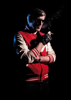 Kavinsky, a French synthwave artist whose production style is very reminiscent of the electro-pop film soundtracks of the 1980s. Kavinsky claimed that his music is inspired by thousands of movies he watched as a young boy and that he has cherry-picked the best parts from them, consolidating them into one concept.