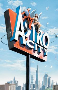 ASTRO CITY: A VISITOR'S GUIDE, by Alex Ross.