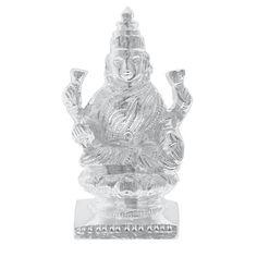 Jpearls Pure Silver Lakhsmi Idol | Silver Statues/ Murtis of God