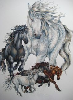 wonder if mum could do me a similar big watercolour for my room? luv this!!