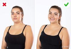11 трюков, с которыми девушки пышных форм выглядят на фото безупречно