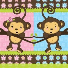 Whether Mom is expecting a baby boy or a baby girl, her little monkey can be welcomed in style with this shower theme. In this lens, you'll find...