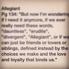 Quote from Divergent Divergent Quotes Love, Divergent Funny, Insurgent Quotes, Divergent Trilogy, Divergent Insurgent Allegiant, Divergent Fandom, Tfios, Book Quotes, Movie Quotes