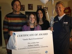 Mesa Dentist Dr. Gary Robison Awards Children Dental Care Scholarships