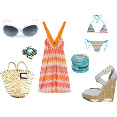 """""""Beach Day!"""" by carma5733 on Polyvore"""