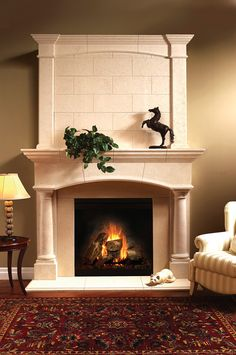 Balmer Arched Overmantel