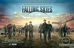 Steven Speilberg, Falling Skies. If you're not watching this show you're nuts.  ***Totally agree! Can't wait til next season!