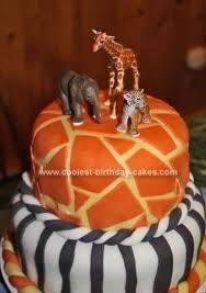 Homemade safari cake!