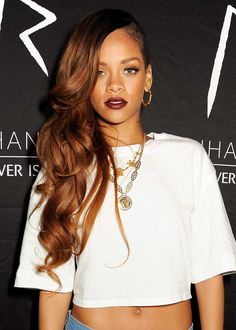 Rihanna wearing Versace Jewelry