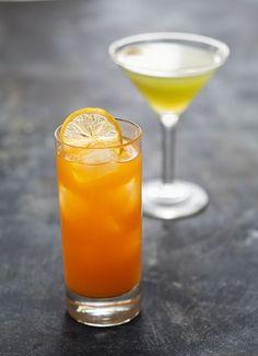 CORONADO-TEQUILA COCKTAIL  ~1.5 oz Blanco Tequila ~1 oz Aperol ~2 oz Coconut Water ~1 oz Passion Fruit Juice ~.25 oz fresh Lemon Juice >Garnish: dried Orange chip or Orange wheel
