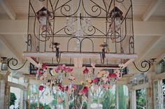 Arianna & Matteo June 2012  dangling flower decoration - weddingsinostuni.com