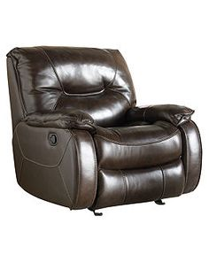 David's new Dante Leather recliner - Shop for and Buy Leather recliner Online - Macy's