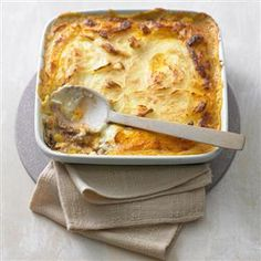 Shepherd's pie. Substitute lamb with ground beef. Cheaper and just as good!