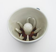 Octopus Creature Cup by creaturecups on Etsy, $19.99