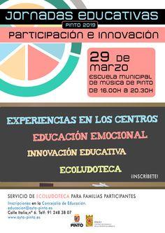 Jornadas Educativas de Pinto 2019 – Información y Orientación Pinto