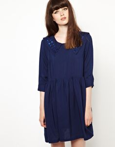 The Whitepepper navy sailor dress