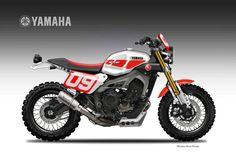 YAMAHA MT 09 CAN NOW BE A SCRAMBLER AND GET DIRTY smcbikes.com http://ift.tt/1SfppB2