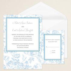 Carolina Elegance Wedding Invitation