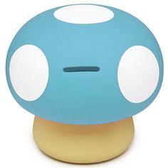 Mushroom - Blue Money Bank |