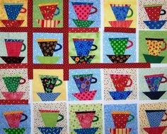 Cute quilt! Makes me think of Gabby! :)