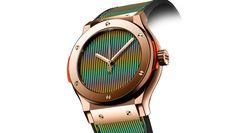 Hublot Launches a Trio of Kaleidoscopic Watches to Kick Off Art Basel Miami | Luxury Newswire