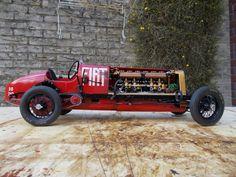 Fiat Mefistofele Italeri - Scale 1/12 build by Geert H