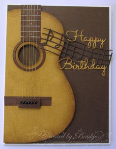 Baukje's Cards and Crafts, Card for male