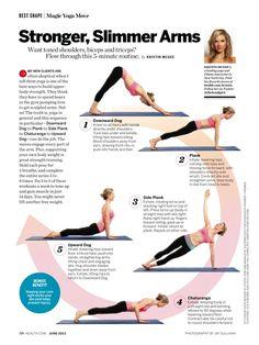 Stronger, Slimmer Arms - Health magazine, June 2013.