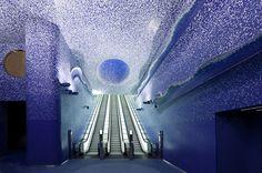5osA: [오사] :: *톨레도 메트로 스테이션, 물과 빛을 주제로 디자인 되다 [ Oscar Tusquets Blanca ] Toledo Metro Station, Naples_Italy