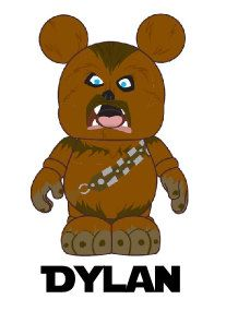 Star Wars Chewbacca Chewy Personalized Custom Iron on Transfer Decal(iron on transfer, not digital download)