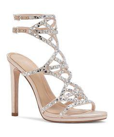cb0f25c6916 Light Peach Galvin Satin Pump Fancy Sandals For Wedding