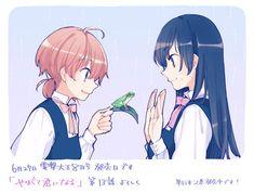 Yagate kimi ni naru Koito to nanami senpai Yuri Anime, Manga Anime, Anime Art, Loli Kawaii, Kawaii Anime, Shoujo Ai, Bloom, Anime Reviews, Sailor Moon Manga