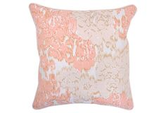 Charlotte 22x22 Cotton Pillow, Multi on OneKingsLane.com