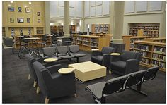 Re-Thinking Learning Spaces - Tech Learning School Library Design, Middle School Libraries, Classroom Design, 21st Century Classroom, 21st Century Learning, Learning Spaces, Learning Centers, Learning Environments, Library Inspiration