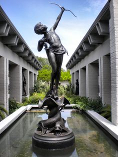 Brookgreen Gardens.  They have such beautiful sculptures and gardens.  This is a must-see for any artists or nature lovers.