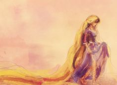 alicexz:    Tangled work-in-progress sketch. ♥    This is beautiful