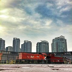 Another shot of the Roundhouse, looking south east at all the condos.....Photo by karinainto